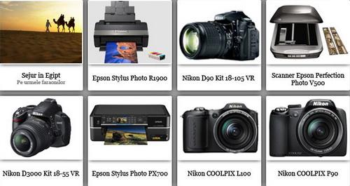 Concurs foto Epson & Nikon: castiga un sejur in Egipt, 5 aparate foto Nikon, 2 imprimante foto Epson, un scanner foto Epson si alte premii tentante