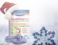 Castiga 5 seturi de Eurovita MultiVital A-Z si Eurovita Vitamina C 500