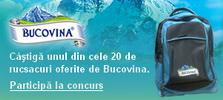 Castiga 20 de rucsacuri oferite de Bucovina