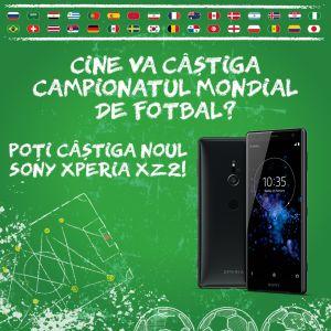 Câștigă noul smartphone Sony Xperia XZ2