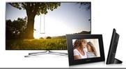 Castiga un televizor Samsung si 12 rame foto digitale Sony