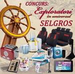 Castiga 11 premii zilnice oferite de Selgros