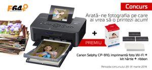 Castiga o imprimanta Wi-Fi Canon Selphy CP910
