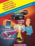 Castiga 2 masini BMW Seria 1, 2 iPhone 5S, 4 iPad Mini si 2 console PlayStation 4