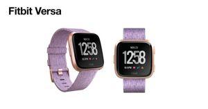 Câștigă 3 ceasuri Fitbit Versa Special Edition Lavender Woven