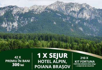 Câștigă o vacanță în Poiana Brașov la Hotel Alpin