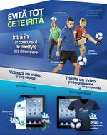Castiga 6 iPad 4, 3 echipamente sportive si 60 sampoane Head & Shoulders