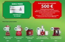 Castiga un voucher Mobexpert de 2.500 de euro, 500 de euro, 41 x 100 de lei si 40 de electrocasnice pentru bucatarie KitchenAid