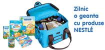 Castiga zilnic o geanta cu produse Nestle