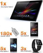 "Concurs ""Ghiceste Scorul"": castiga o tableta Sony Xperia Z, 10 smartphone-uri Sony Xperia J/E, 5 smartwatch-uri Sony si 180 vouchere Orange de 10 euro"