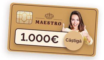 Câștigă 1.000 de euro cu Maestro