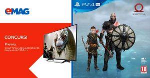 Câștigă un smart TV Sony Bravia cu diagonala de 138,8 cm