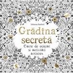 """Castiga o carte de colorat pentru adulti """"Gradina Secreta"""""""