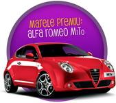 Castiga o masina Alfa Romeo Mito, 12 iPad Mini, 6 aparate Nescafe Dolce Gusto Circolo, 84 de iPod-uri si peste 1000 alte premii