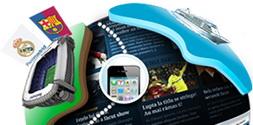 Castiga o croaziera de lux, 4 telefoane iPhone 4, 2 tablete Samsung Galaxy Tab, bilete la meci, bani si articole sportive