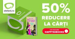 50% reducere la carti pe Elefant