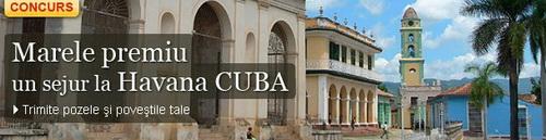 Castiga un sejur pentru doua persoane la Havana, Cuba