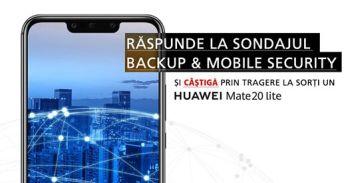 Câștigă un smartphone Huawei Mate 20 Lite