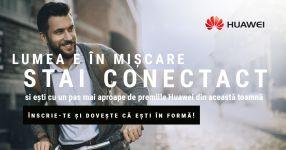 Castiga 3 smartphone-uri Huawei (P9, P9 Lite si P9 Plus), 30 perechi de pantofi sport Converse, 90 boxe bluetooth si 120 tricouri