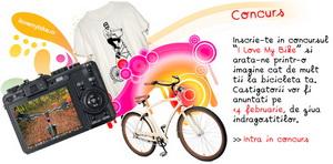 """Concurs foto """"I Love My Bike"""": castiga 3 biciclete performante"""