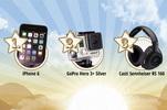 Castiga un iPhone 6, un GoPro Hero 3+ Silver, o pereche de casti wireless Senheiser RS 160, 20 de premii surpriza si alte premii suplimentare