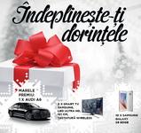 Castiga o masina Audi A6, 10 televizoare LED Samsung Ultra HD cu diagonala de 121 cm si 10 smartphone-uri Samsung Galaxy S6 Edge