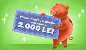 Câștigă 9 x 2.000 lei economisind cu ING
