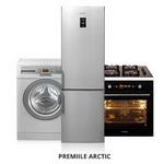 Castiga o combina frigorifica Arctic, o masina de spalat rufe Arctic sau un set de incorporabile Arctic (plita si cuptor)