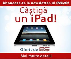 Castiga un Apple iPad 32GB WiFi 3G, un telefon mobil Nokia E52 si 10 memorii externe Kingston DataTraveler 100 4 GB