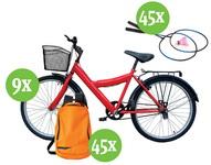 Castiga 9 biciclete B'twin, 45 seturi rachete de badminton Artengo si 45 rucsacuri Quechua