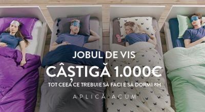 Câștigă 1.000 euro pentru 8 ore de somn