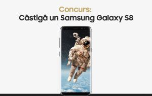 Câștigă un smartphone Samsung Galaxy S8
