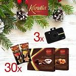 Castiga 3 aparate foto Polaroid si 30 de pachete cu bunatati de la Kandia