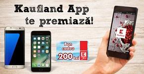 Câștigă un iPhone 7 Plus, un Samsung Galaxy S7 Edge și 10 vouchere Kaufland în valoare de 200 lei fiecare