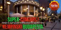 Castiga un sejur de 3 nopti la fabulosul hotel Kempinski Corvinus din Budapesta