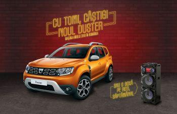 Câștigă o mașină Dacia Duster Comfort