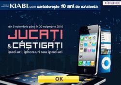 Castiga 3 iPad-uri, 3 iPhone-uri si 3 iPod-uri Nano