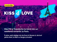 Câștigă un weekend romantic la Paris și 10 x 100 de euro