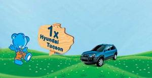 "Castiga un autoturism Hyundai Tucson sau 61 jucarii Fischer Price, model ""Elefant Muzical"""