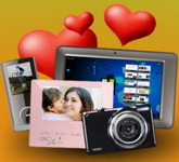 """Concurs """"Lectii de iubire"""": castiga o tableta pc, un aparat foto, un mp4 player, o rama foto digitala si carti de bucate"""