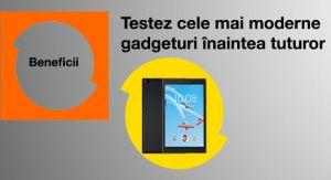Câștigă 3 tablete Lenovo Tab 4