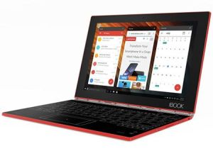 Câștigă 3 laptopuri 2 în 1 Lenovo Yoga Book Red 4G Win 10 Pro 64 GB