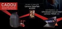 Castiga 4 laptopuri Lenovo IdeaPad Yoga 11s, 31 tablete Lenovo IdeaTab A1000 si 1.000 de ruscaci Lenovo