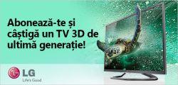 Castiga 2 televizoare Smart 3D LED LG