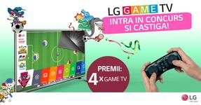 Castiga 4 televizoare LG Game TV 32LH530V cu telecomanda dedicata gaming-ului, Quick Remotee AN–GR700