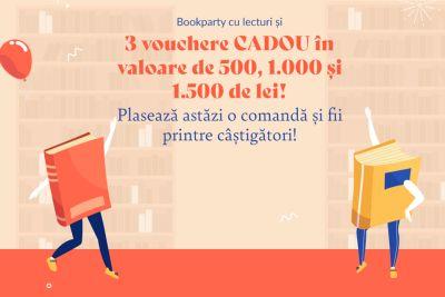Câștigă 3 vouchere Libris în valoare de 1.500 lei, 1.000 lei și 500 lei