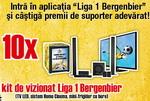 "Concurs ""Liga 1 Bergenbier"": castiga 10 televizoare led Samsung"