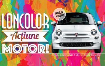 Câștigă o mașină Fiat 500, 3 Samsung Galaxy S9 și 500 x 100 lei