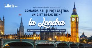 Câștigă un city break de 4 stele la Londra