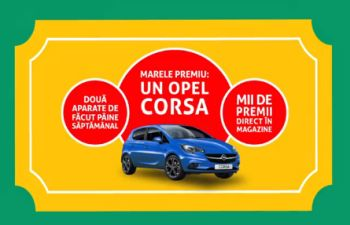 Câștigă o mașină Opel Corsa Enjoy 1.2